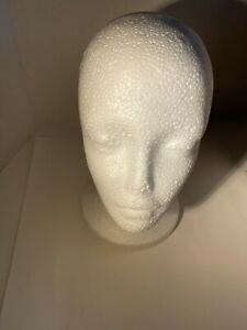 Foam Female Mannequin Head And Wig