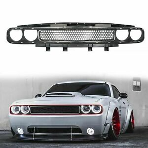 For 2008 2014 Dodge Challenger Grille Upper 2009 2010 2011 2012 2013