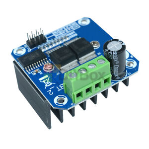 1 10pcs Dual Bts7960b 43a Dc Stepper Motor Driver H bridge Pwm Board For Arduino