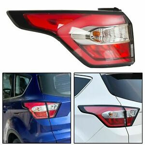Left Outer Side Tail Light Brake Lamp For Ford Escape Kuga 2017 2018 2019 W Blub