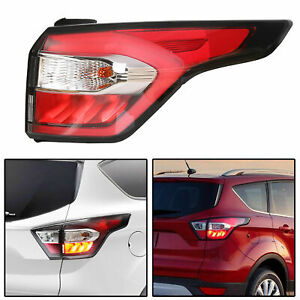 Right Outer Side Tail Light Brake Lamp For Ford Escape Kuga 2017 18 2019 W Blub