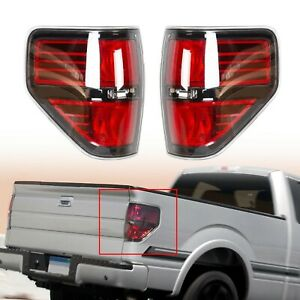 For 2009 2014 Ford F150 F 150 Svt Raptor Pickup Rear Tail Lights Brake Lamps