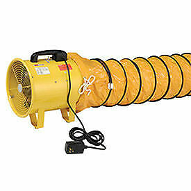 Portable Ventilation 12 Fan With 32 Flexible Ducting