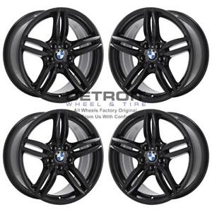 19 Bmw M6 Gloss Black Exchange Wheels Rims Factory Oem 71414 2011 2019