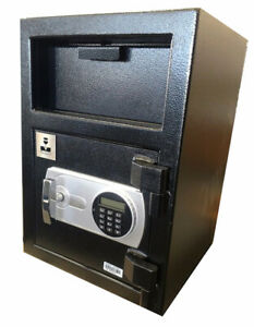 Depository Safe Electronic Digital Money Drop Safes 1 2 Door Real Security
