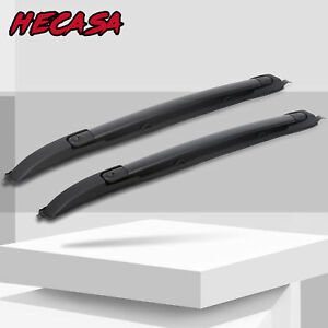 For Toyota Tacoma 2005 2006 2007 2020 Double Cab Roof Rack Cross Bars Set