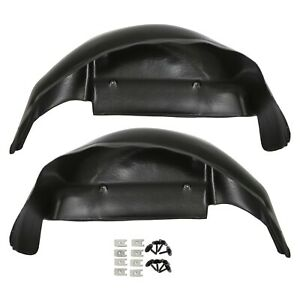 79101 Rear Fender Liner Wheel Well Guards Covers Fits 2006 2014 Ford F 150 F150