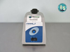 Vwr Analog Vortex Mixer With Tube Top With Warranty See Video