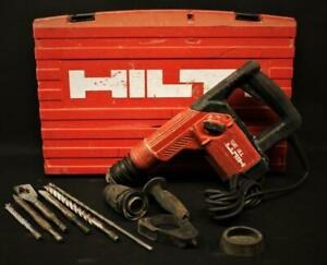 Hilti Te 35 Sds Rotary Hammer Drill W Casing And Bits