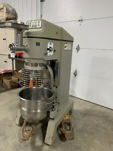 Globe Sp62 Dough Mixer 3hp With Stainless Attachments Bowl Hook Grinder