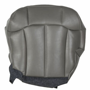 For 1999 2002 Chevy Silverado Tahoe Suburban Driver Bottom Leather Seat Cover