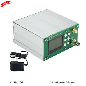 Rf Signal Generator 1hz 20g Power Regulation Usb Broadband Ocxo Wb sg1 W Power