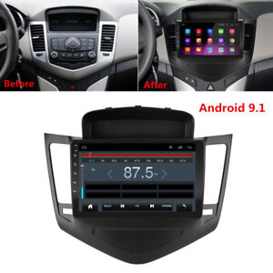 For 2009 2014 Chevy Cruze 9 Android 9 1 Car Stereo Radio Gps Mp5 Player Frame