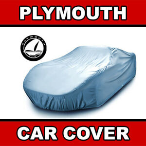 Plymouth Outdoor Car Cover Weatherproof Waterproof Custom Fit