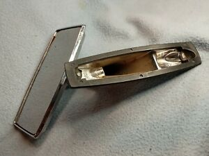 Vintage Chrome Side View Mirror Automobile Car
