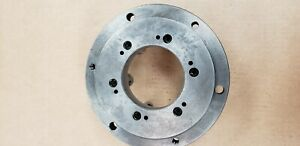 New Lathe Chuck Adapter Back Plate D1 6 Mount 9 1 4 Diameter 4 1 Thru Hole
