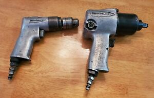 Blue Point 1 2 Drive Impact Gun Reversible Drill For Parts Or Repair Only