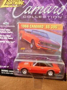 Johnny Lighting 1968 Camaro Ss 396 1 64th Scale Die cast