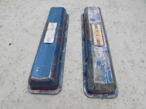 1962 1967 Chevrolet Turbo Fire Valve Covers 327 Corvette Impala Chevelle Nova Ss