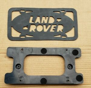 Land Rover Discovery 2 Rear License Plate Bracket W Gasket Oem 99 04