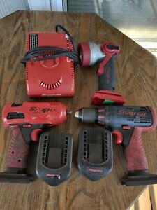Snap On 3 8 Cordless Impact 14 4 Ct 4410a Hex Drill And Worklight 14 4v