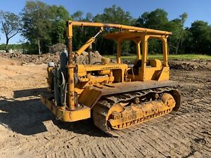 Used Cat Caterpillar D6b Crawler Dozer Welding Tractor Tack Rig