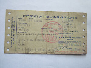 1939 Ford Station Wagon Barn Find Historical Document