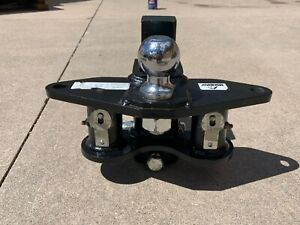 Husky Trailer Hitch 2 Ball 6000lbs And Round Sway Bars Excellent Condition