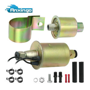 Universal Electric Fuel Pump 12v E8012s 5 9 Psi For Gas Diesel Hep 02a