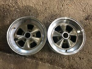 1968 1969 1970 Dodge Charger Coronet Rt Plymouth Cragar Like 15x7 Rims Uni Lug