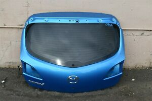 10 11 12 Mazdaspeed3 Hatchback Turbo Blue Rear Hatch Trunk Assy 2 3t Ms3