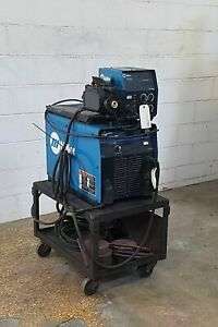 Miller Invision 450 amp Welding Power Source With Wire Feeder Am19760