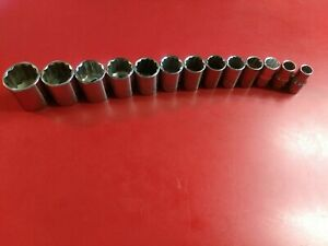 Craftsman 1 2 Dr 12 Point Socket Set Sae Usa