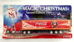 Coca-Cola XMAS TRUCK Nr.3 Coke Collectible Rare Edition
