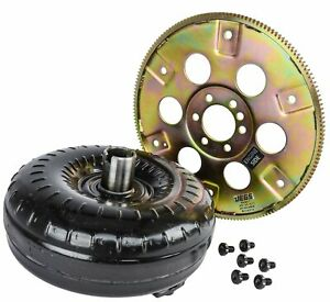 Jegs 60402k Torque Converter And Flexplate Kit For Gm Th350 th400 Stall Speed