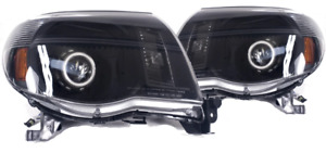 2005 Thru 2011 Toyota Tacoma Headlights Retrofit Angel Eyes Halos Honeycomb
