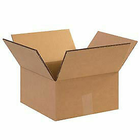 12 X 12 X 8 Heavy duty Double Wall Cardboard Corrugated Boxes 100 Lbs