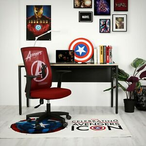 Marvel Avengers Office Chair Computer Desk Chair Gaming Ergonomic Mesh Home