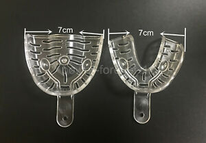 Dental Denture Impression Trays Middle 3 4 121 Upper Lower Tray Orthodontic