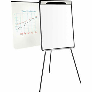 Mastervision Dry Erase Tripod Presentation Easel W extension Arms