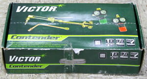 Victor Mod 0384 2130 Contender 540 510 Edge 2 0 Acetylene Cutting Torch Outfit