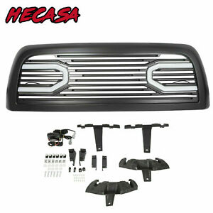 For 10 18 Dodge Ram 2500 3500 Big Horn Front Bumper Grille Grill Shell