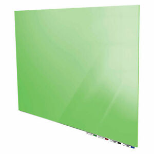 Ghent 174 Aria 3 w X 2 h Magnetic Glass White Board Green