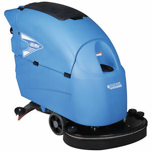Auto Floor Scrubber 26 Cleaning Path Traction Drive
