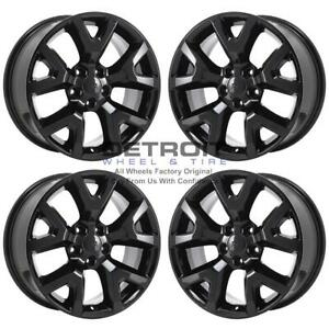 17 Jeep Cherokee Gloss Black Exchange Wheels Rims Factory Oem 9131 2014 2020