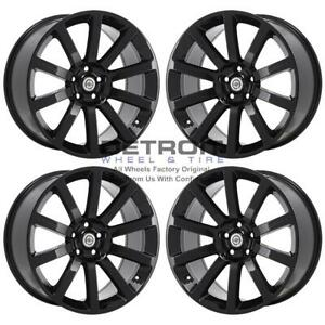 20 Chrysler 300 Gloss Black Exchange Wheels Rims Factory Oem 2253 2005 2010