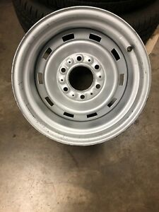 1 15x8 Chevy Factory 4wd Rally Wheel Original Paint