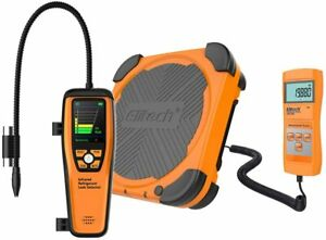Elitech Ild 200 Advanced Refrigerant Leak Detector Lmc 200 Charging Scale Hvac