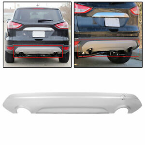 Rear Lower Bumper Cover Trim Sel Titanium For 2013 2019 Ford Escape 14 15 16 17