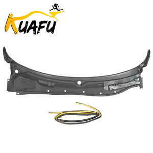 New For 2008 2019 Dodge Challenger Windshield Wiper Cowl Grille Panel